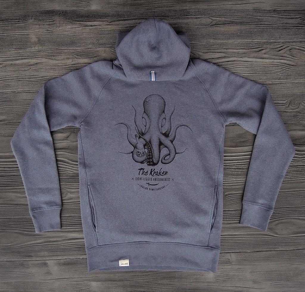 The Kraken Bio Hoodie Blue