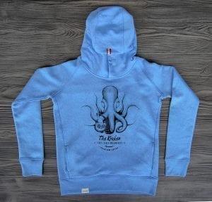 The kraken bio hoodie girls blue