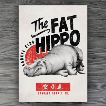 The Fat Hippo Karate Club