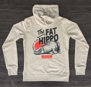 The Fat Hippo Karate Club Bio Zip Hoodie