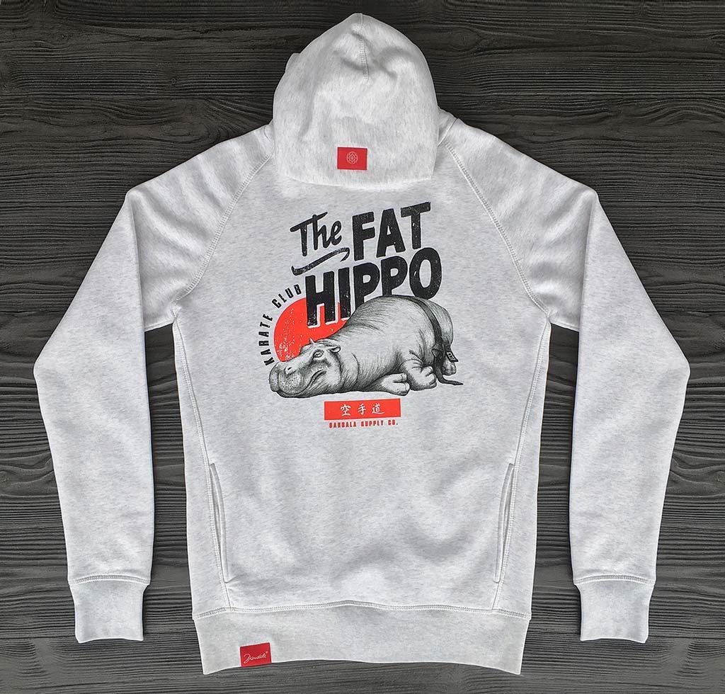 The Fat Hippo Karate Club Bio Hoodie