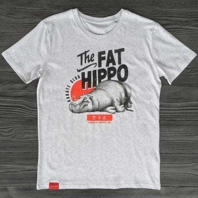 The Fat Hippo Karate Club Bio T-Shirt