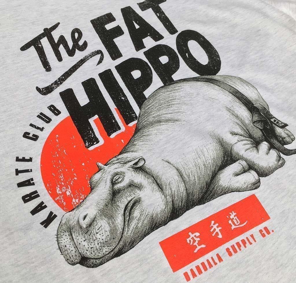 The Fat Hippo Karate Club Bio T-Shirt