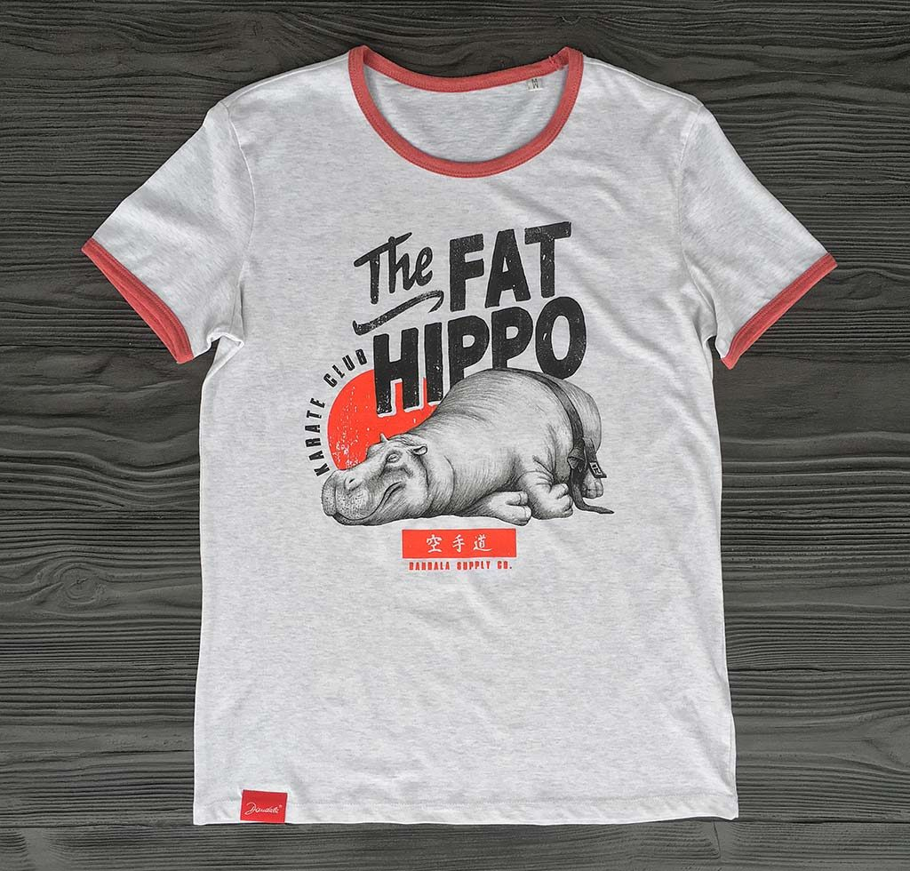 The Fat Hippo Karate Club Girlie