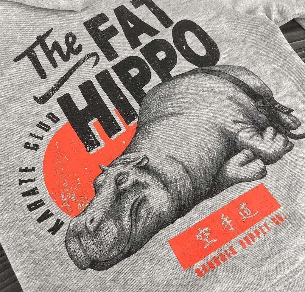 The Fat Hippo Karate Club Bio Kinder Hoodie