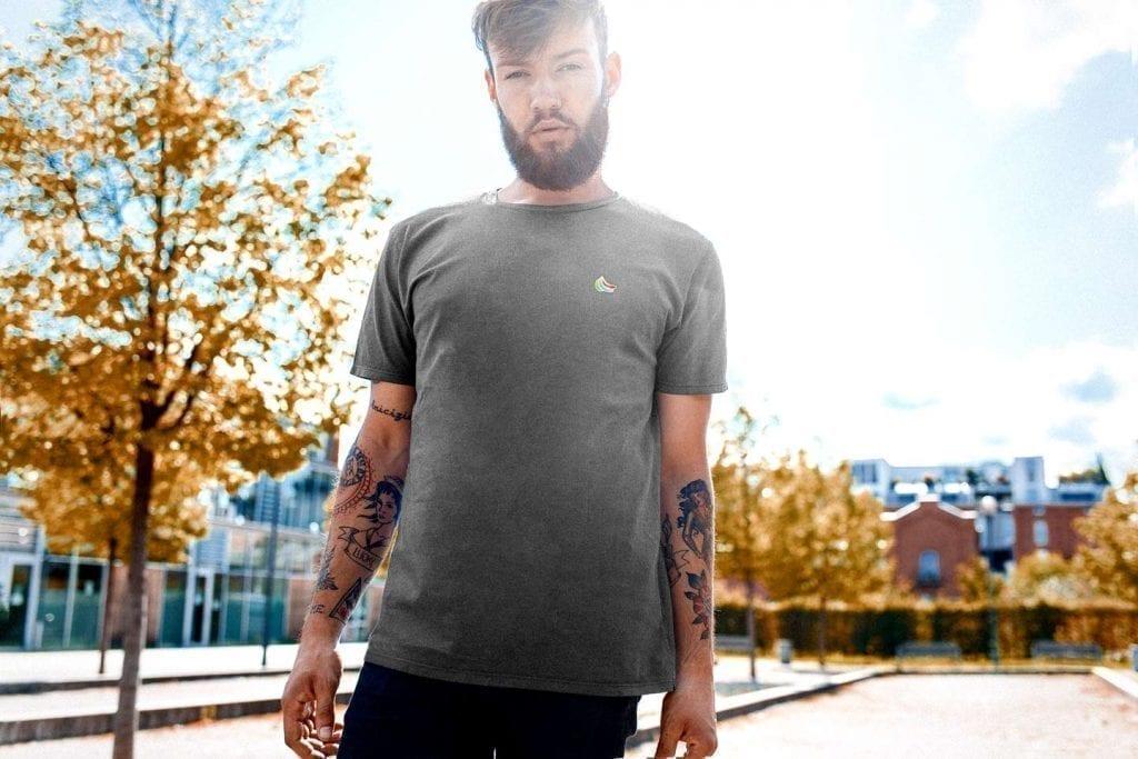 gobananas grey bio shirt