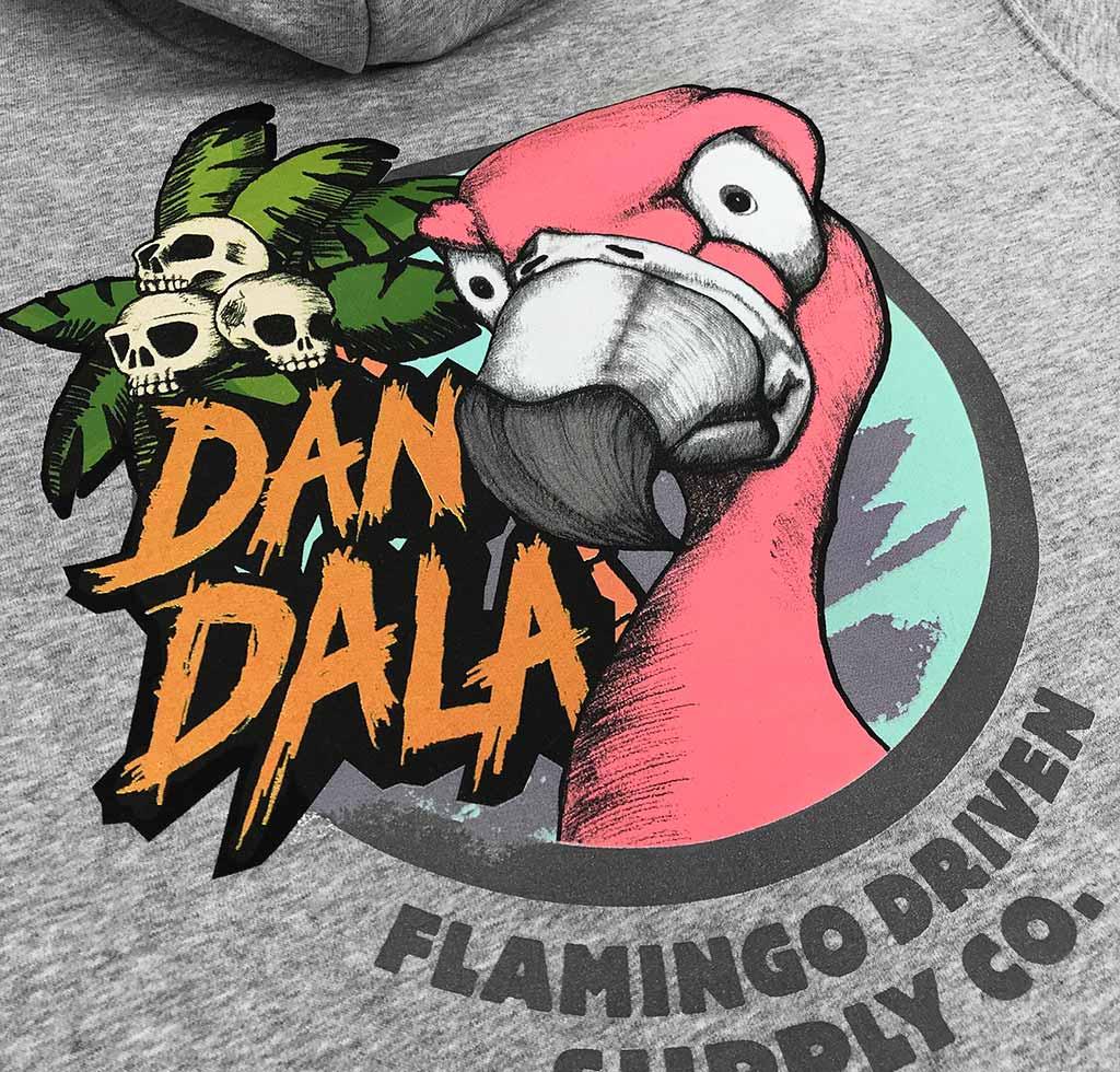 Dandala_flamingo_hoodie_grey_back2